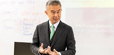 教授によるカリキュラム紹介