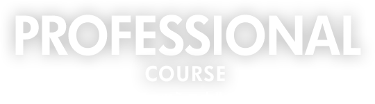 PROFESSIONAL COURSE プロフェッショナルコース