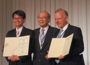 Prof.Sandor Markon won the Best Paper Award