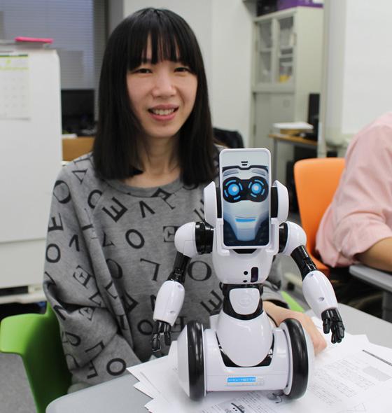 李さんが利用した小型ロボット