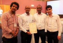 「国際複合医工学会(CME2016)」にて最優秀論文賞を獲得しました