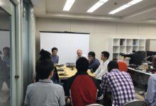 留学生が企業を訪問しました