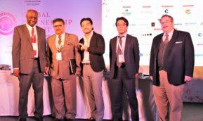 福岡賢二理事がグローバルパートナーシップサミットinニューデリーに登壇しました