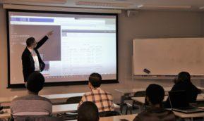 情報セキュリティ株式会社(iSEC)様による特別講義が開講されました。