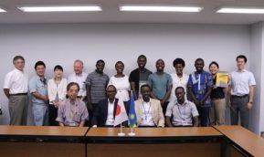 ルワンダ雷対策プロジェクトチームとの意見交換会が開かれました