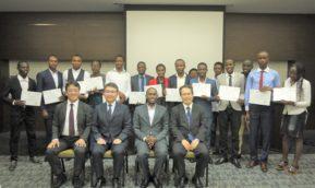 草の根技術協力事業「キガリを中心とした若手ICT人材育成事業」第2バッチ修了式が開催されました。