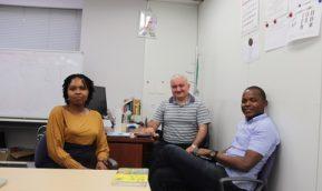 「お帰りなさい」 アフリカから、日本からICTイノベータコースの修了生が次々来学!