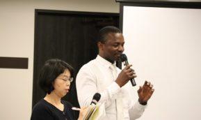 TICAD7へ向けて!! 先生と学生がトークセッション!
