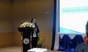 ミャンマー出身の留学生が国際会議で発表